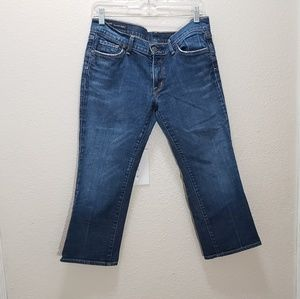 Citizens of humanity cropped jean